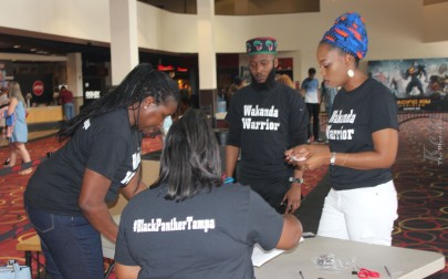 Our Wakanda Warrior Volunteers did amazing!!